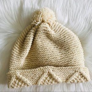 Vintage Wool Knitted Hat Beanie